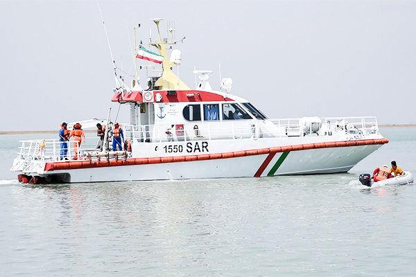 نجات سه صیاد ایرانی از مرگ حتمی