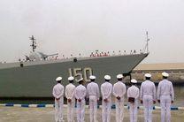 ناو گروه ارتش چین در بندرعباس پهلو میگیرد