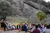 حضور آیت الله میرعمادی و رئیس کل دادگستری در جمع محیطبانان لرستان