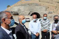 عملیات راه سازی ایلام-مهران تا اربعین آینده به اتمام می رسد