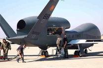 پرواز پهپاد جاسوسی آمریکا  بر فراز پایگاه های روسیه در سوریه