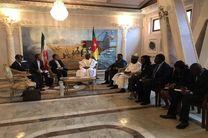 تقدیم رونوشت استوارنامه سفیر ایران به وزیر امور خارجه عمان