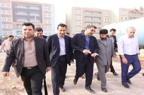 استاندار خوزستان از پروژه ۲هزار واحدی مسکن مهر نفت اهواز بازدید کرد