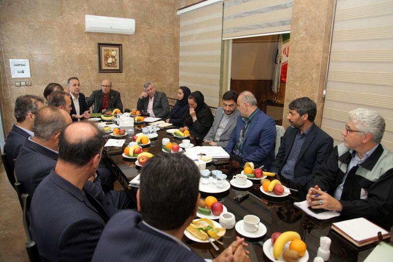 اولین نشست تعاملی مسئولین ذوب آهن اصفهان با بیمه دانا