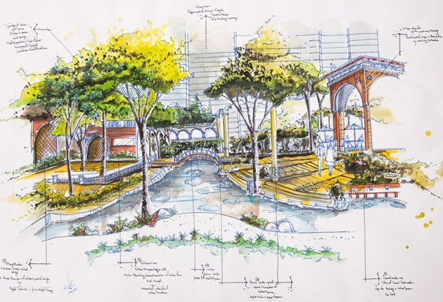 نمایشگاه اسکیس طراحی شهری گشایش مییابد