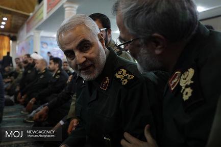 سرلشکر قاسم سلیمانى فرمانده نیروى قدس سپاه پاسداران انقلاب اسلامى