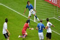 برتری ایتالیا در بازی دوستانه