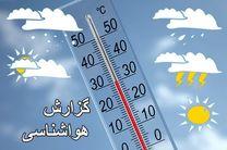 دمای هوای مازندران به صورت نسبی و تدریجی افزایش مییابد