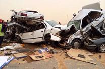 تلفات حوادثرانندگی ۲٫۹ درصد کاهش یافت