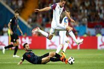 نتیجه بازی ایسلند و کرواسی در جام جهانی/ صعود مقتدرانه کرواتها
