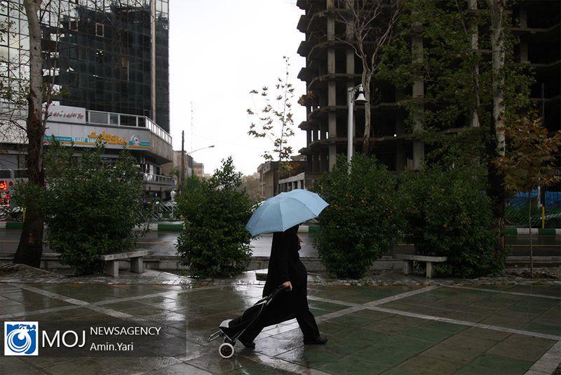 هشدار هواشناسی نسبت به رگبار باران در برخی مناطق