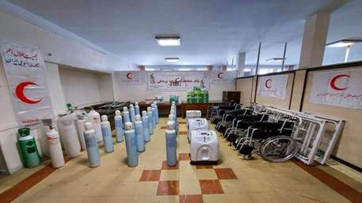 خدمت رسانی بانک امانات تجهیزات پزشکی به 967 بیمار کرونایی