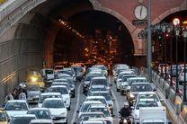 ترافیک سنگین در سه معبر بزرگراهی پایتخت