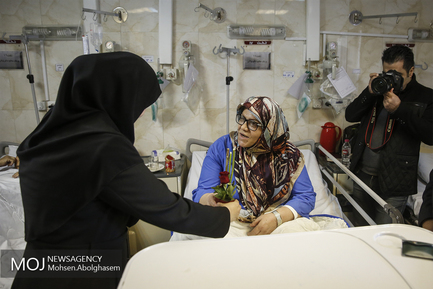 بازدید مدیران سازمان تامین اجتماعی از بیمارستان شریعت رضوی