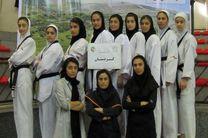 تکواندوکاران دختر کردستانی نائب قهرمانی رقابت های شمالغرب کشور را کسب کردند