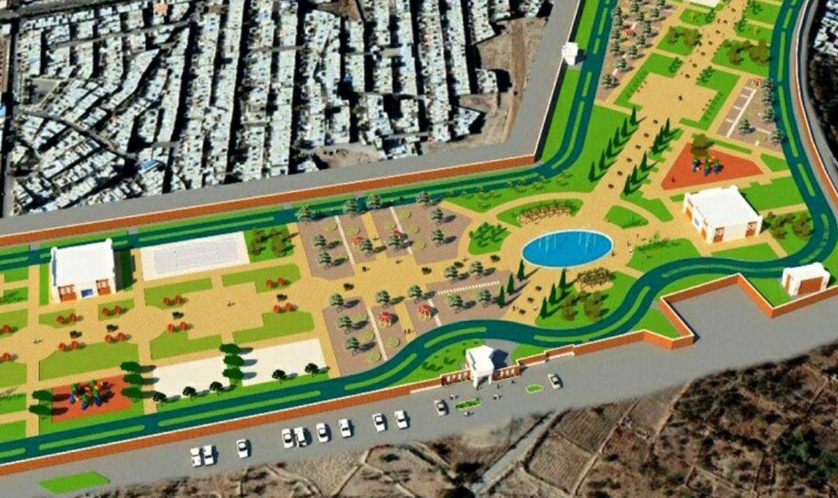 احداث بوستانی به مساحت۶۰ هزار متر مربع در یکی از محلات محروم بندرعباس