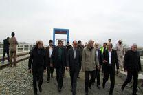 چگونگی احداث راه آهن در محل بار انداز آستارا بررسی شد/ بهره برداری پروژه راه آهن آستارا- آستارا با حضور روسای جمهور ایران و آذربایجان