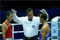 قضاوت نخستین داور سه ستاره ایران در لیگ حرفهای بوکس جهان