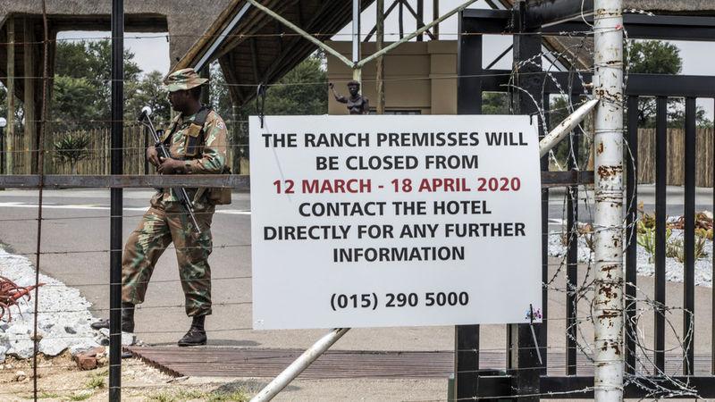 شیوع کرونا موجب اعلام وضعیت فوق العاده در آفریقای جنوبی شد