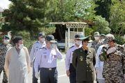 فرمانده کل ارتش از دانشگاه پدافند هوایی بازدید کرد