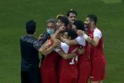 نتیجه بازی پرسپولیس و شارجه امارات در نیمه نخست