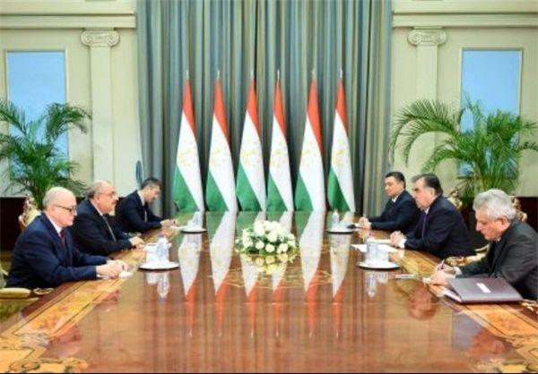رئیس جمهور تاجیکستان با معاون نخست وزیر ترکیه دیدار کرد
