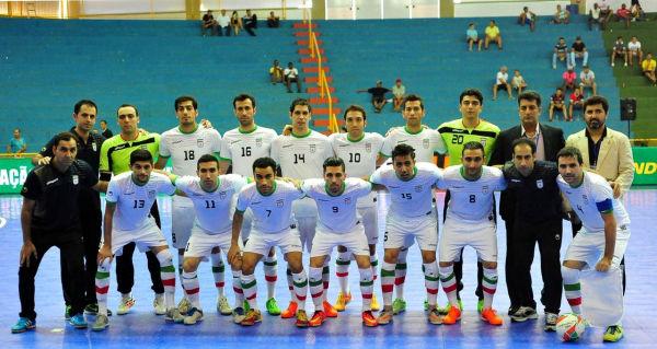 تیم ملی فوتسال ایران حریفان خود را شناخت