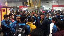 اعضای تیم ملی کشتی فرنگی کشورمان وارد هند شد