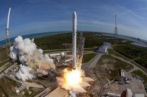 راکتی به وزن دو تن به سمت ایستگاه فضایی پرتاب شد