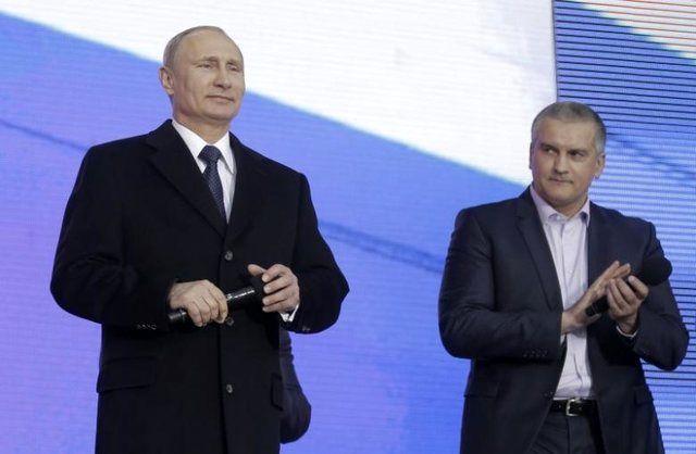 نخستوزیر کریمه: پوتین باید رییس جمهور مادامالعمر باشد