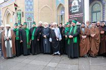 شیوخ عراقی با مردم ایران ابراز همدردی کردند