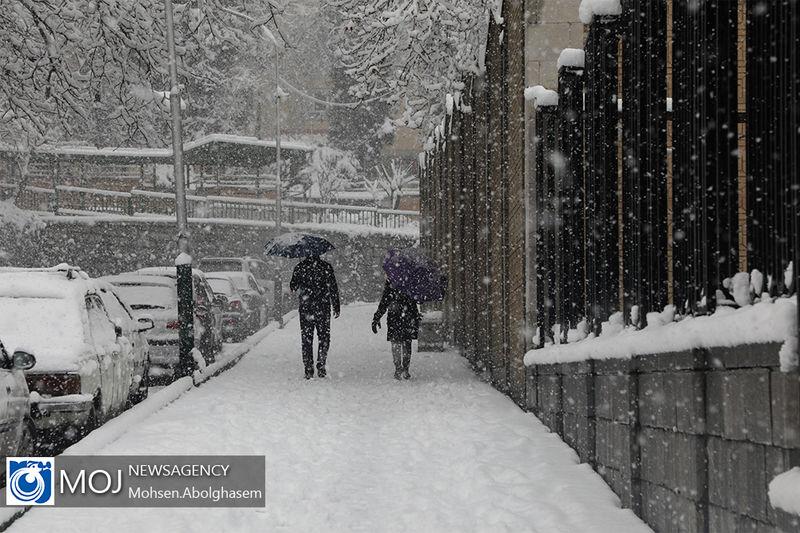 هشدار هواشناسی / پیش بینی بارش برف در ۱۵ استان کشور