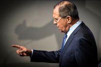 لاوروف: براندازی نظامها با دخالت نظامی، هرگز نتایج مثبتی ندارد