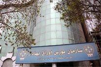 کاهش 77 درصدی ارزش معاملات این هفته بورس منطقهای کرمانشاه