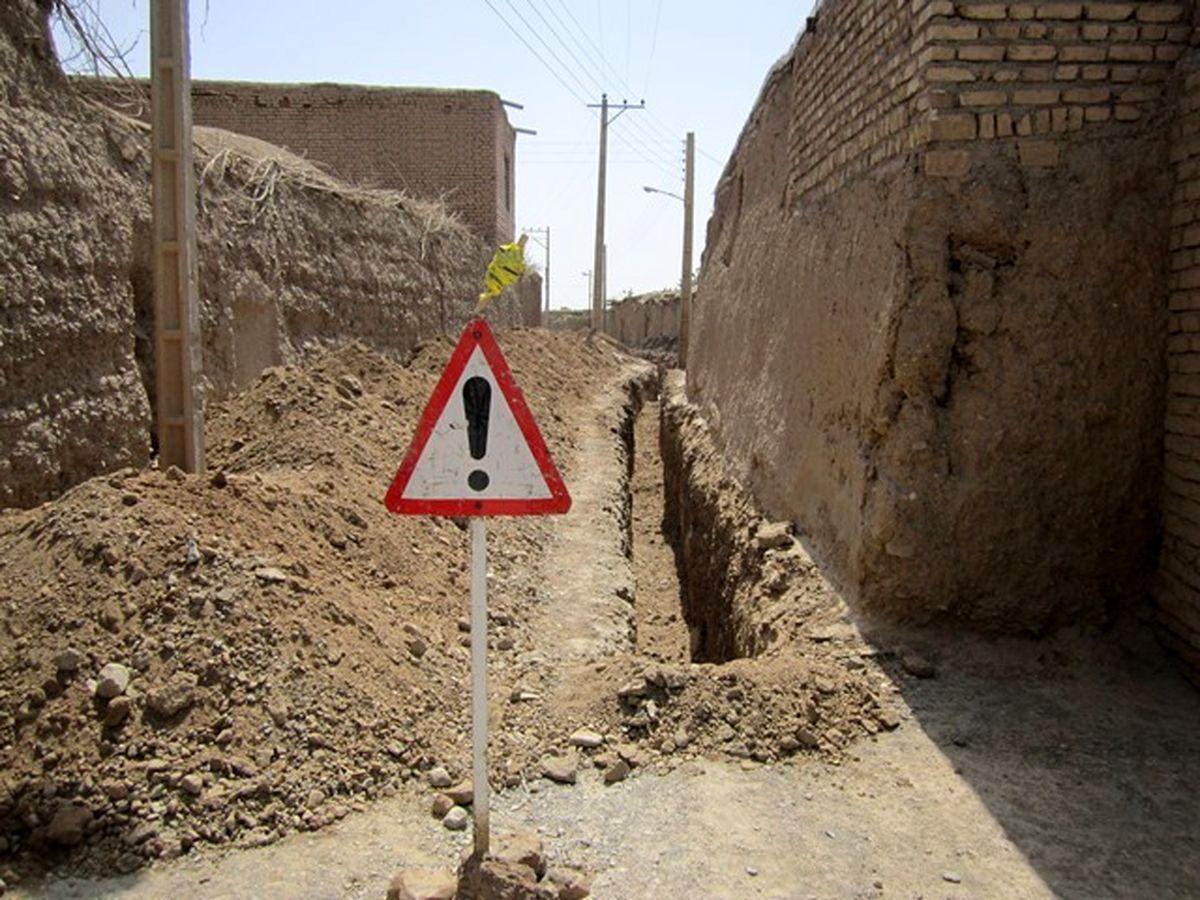 بهره مندی 1066 روستای استان اصفهان از نعمت گاز طبیعی