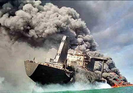 خسارت نفتکش سانچی پرداخت شد/پرداخت خسارت ۲۰۰ میلیارد تومانی به زلزله زدگان کرمانشاه