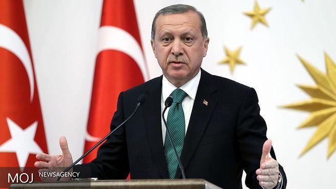 اردوغان: سیاست برد - برد را دنبال می کنم