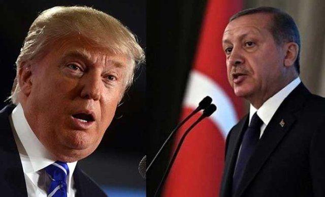 دعوت اردوغان از ترامپ برای سفر به ترکیه