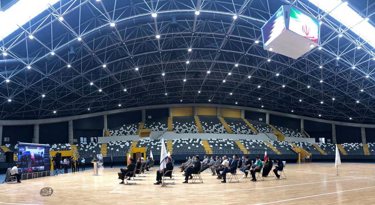 بهره برداری از استادیوم ورزشی شهید سپهبد سلیمانی ساری