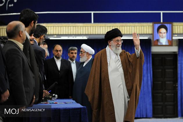 رهبر معظم انقلاب از حضور پرشور و گسترده مردم در انتخابات تشکر کردند