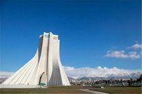 وضعیت کیفی هوای تهران در ٢٤ ساعت گذشته