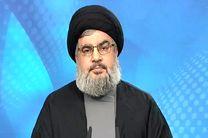 سید حسن نصرالله: صهیونیست ها را در صورت تجاوز به لبنان شکست می دهیم