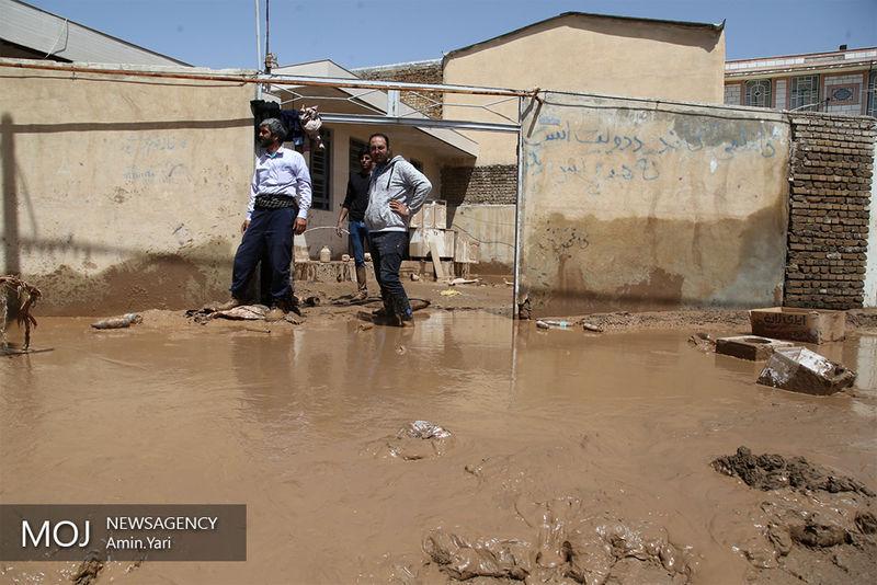 قطعی آب ۲۰۰ روستا بر اثر وقوع سیل / شرایط انجام عملیات بسیار دشوار است