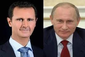 پیام تبریک اسد به پوتین برای پیروزی در انتخابات ریاست جمهوری