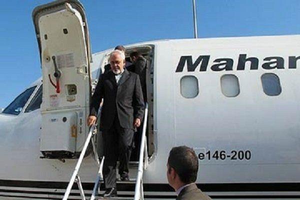 ظریف وارد سوریه شد