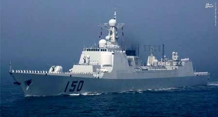 ارتش چین توان پدافند دریایی خود را تقویت می کند