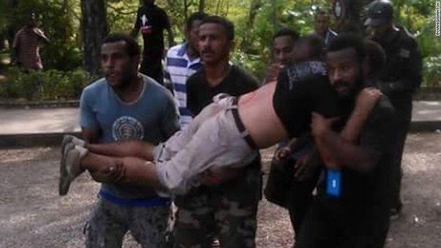 پلیس پاپوا گینه به روی معترضان آتش گشود