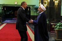 الهام علی اف با روحانی دیدار کرد