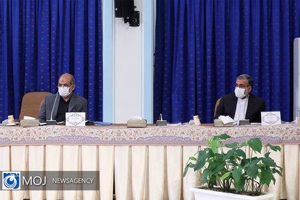 جلسه ستاد ملی مقابله با کرونا -  ۱۰ مهر ۱۴۰۰