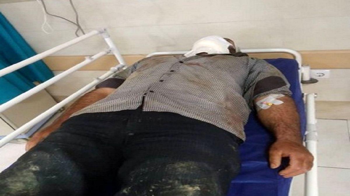 مصدومیت قرقبان حفاظتی شرکت چوب و کاغذ مازندران در درگیری با قاچاقچیان چوب